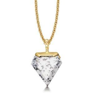 Missoma Jewelry - Missoma Mini Shield Dendritic Necklace
